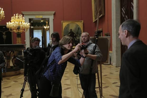 В Третьяковке покажут документальный фильм о революции в русском искусстве