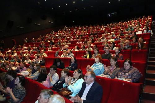 фестиваль проходит в кинотеатре Победа
