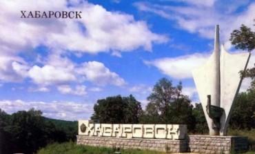"""Хабаровск. """"Портрет героя"""" Елены Шумилиной"""