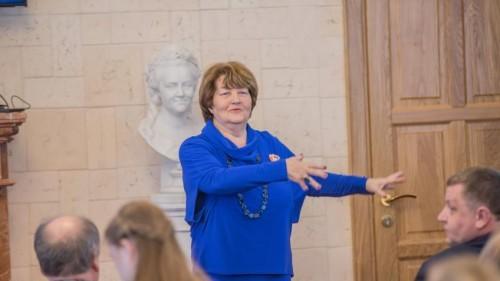 фото 3 Президент фестиваля Меридиан надежды Наталья Уложенко в Горном университете