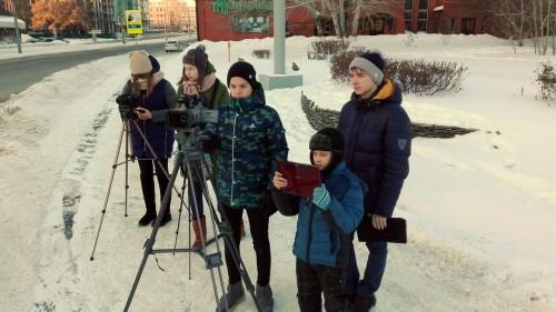 ФОТО 2 Занятия по операторскому мастерству детской группы