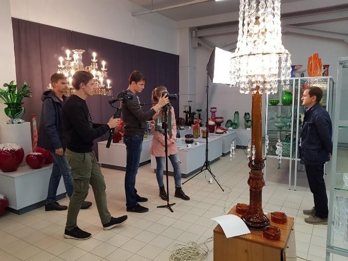 Тверские студенты участвуют в съемках документального фильма о ремеслах