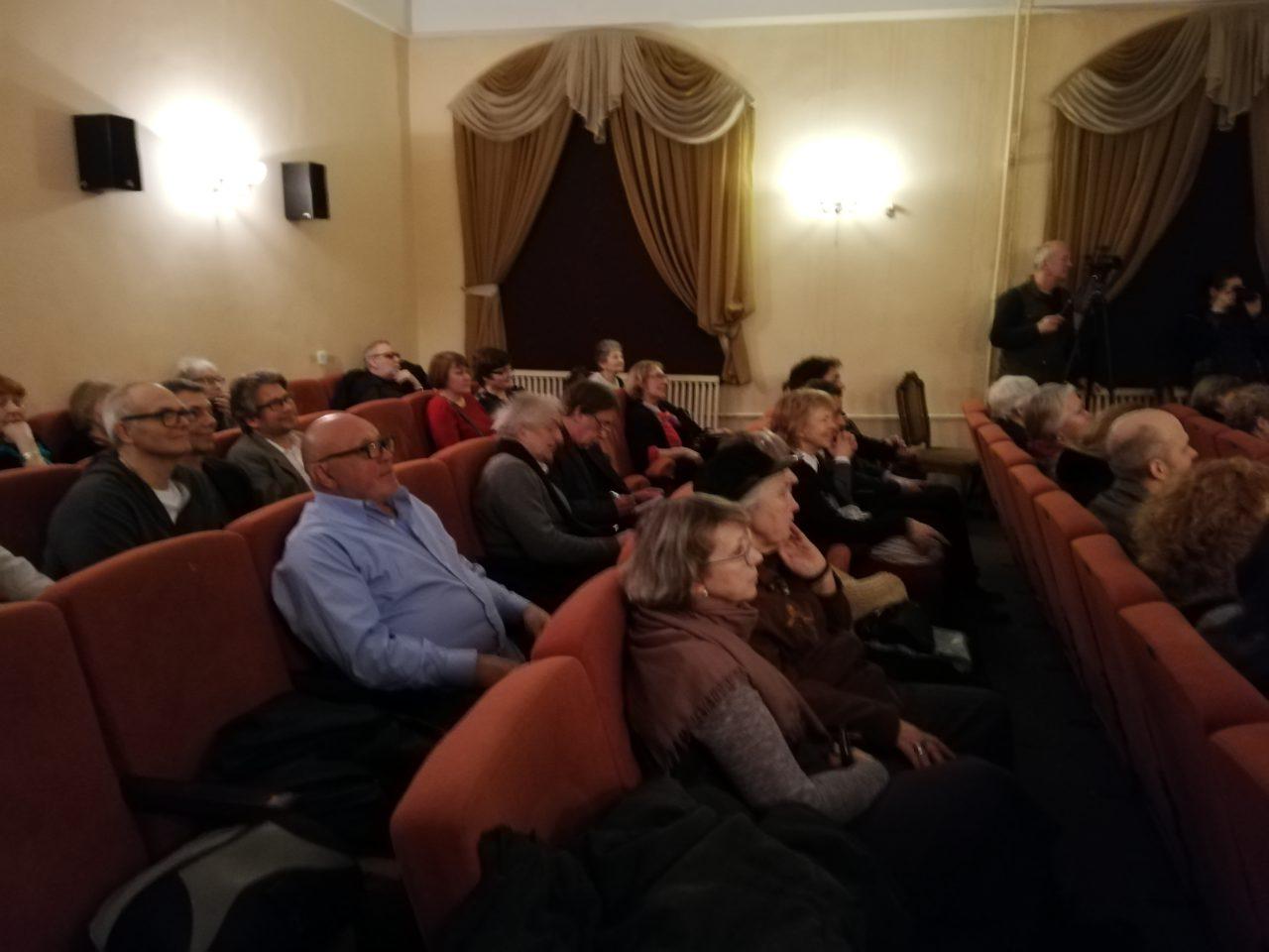 Санкт-Петербург. Секция научно-популярного кино провела вечер памяти режиссера Альберта Мартыненко