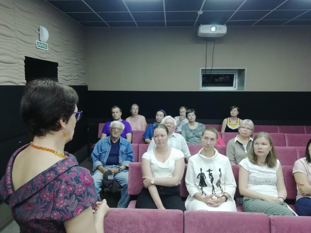 Иркутск. Показ документального фильма «Экспозиция войны»