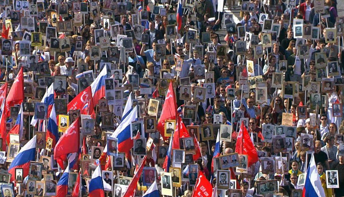 8 и 9 мая, в рамках празднования 75-летия Великой Победы проходят показы документального фильма «Бессмертный полк – всемирное движение» (2020).